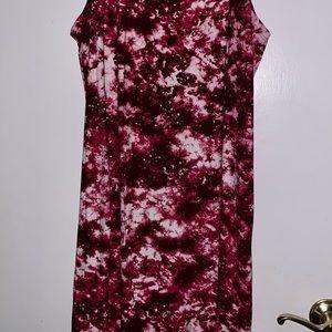 4X Tie Dye Dress